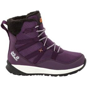 Jack Wolfskin Polar Bear Texapore High Laarzen Kinderen, purple/off-white